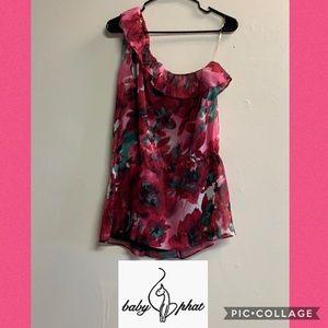 Baby Phat off shoulder floral shirt size XL